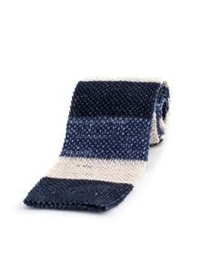 Thomas Pink Gentleman Stripe Knited Tie