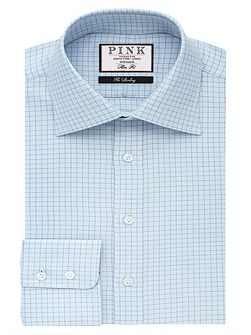 Joaquin Check Slim Fit Button Cuff Shirt