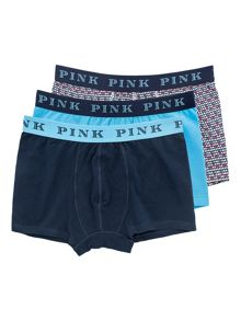 Thomas Pink Havelock Trunk Boxer Shorts Pack Of 3