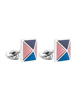 Four Panel Pyramid Cufflinks