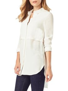 Phase Eight Maida Crepe Tunic Shirt