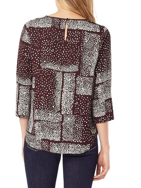 Phase Eight Ivy Spot Blouse