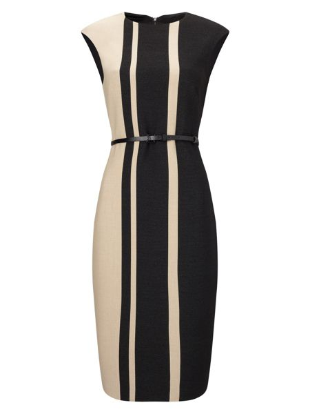 Phase Eight Robyn Stripe Colour Block Dress