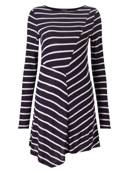 Phase Eight Cutabout Stripe Top