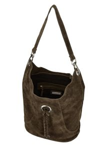 Phase Eight Sapphia Suede Bag