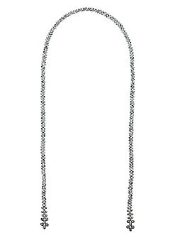 Eve Lariat Tie Necklace