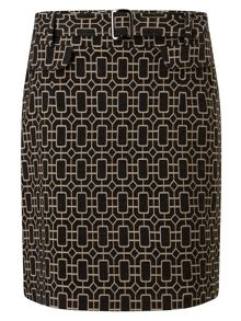 Phase Eight Mya Printed Skirt