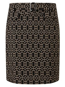 Mya Printed Skirt