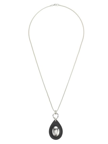 Phase Eight Hailey Leather Pendant Necklace