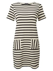 Phase Eight Salina Stripe Dress