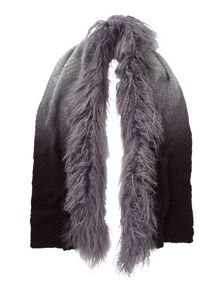 Phase Eight Mongolian Fur Trim Scarf