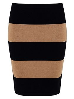 Lia Rugby Stripe Skirt