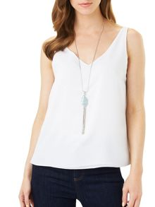 Phase Eight Layla Agate Pendant Necklace