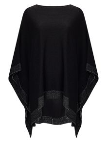 Phase Eight Gia Step Hem Poncho