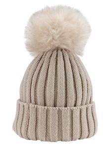 Phase Eight Wool Blend Pom Pom Hat