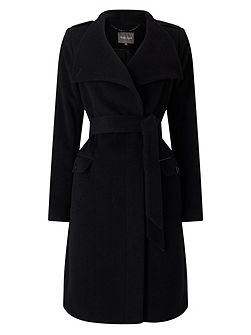 Donnalyn Wrap Neck Coat