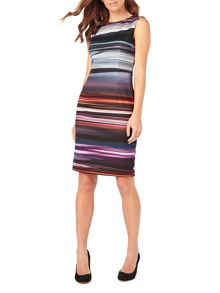 Phase Eight Stripe Scuba Dress