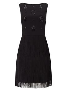 Phase Eight Bella Fringe Dress