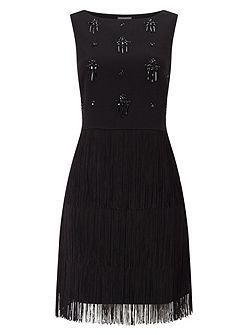 Bella Fringe Dress