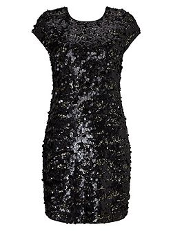 Selia Sequin Dress