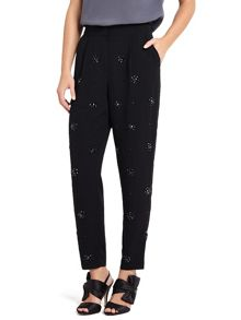 Phase Eight Amalia Embellished Front Trousers