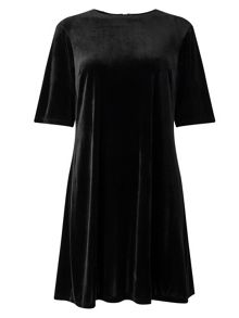 Phase Eight Pia Pleat Back Velvet Dress