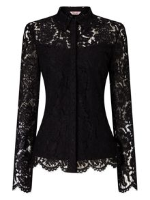 Phase Eight Liv Lace Shirt