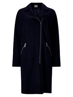 Ricarda Zip Knit Coat