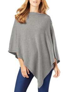 Phase Eight Cashmere Blend Button Wrap