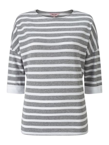 Phase Eight Winifred Woven Back Stripe Top