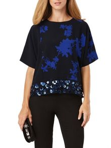 Phase Eight Sacha Embellished Top