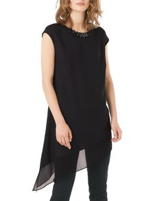 Phase Eight Molly Asymmetric Necklace Top