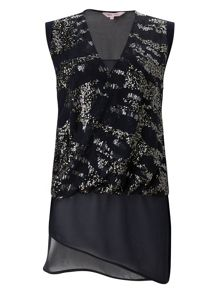 Phase Eight Eleni Embellished Top