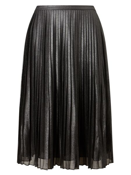Phase Eight Sia Shimmer Pleated Skirt