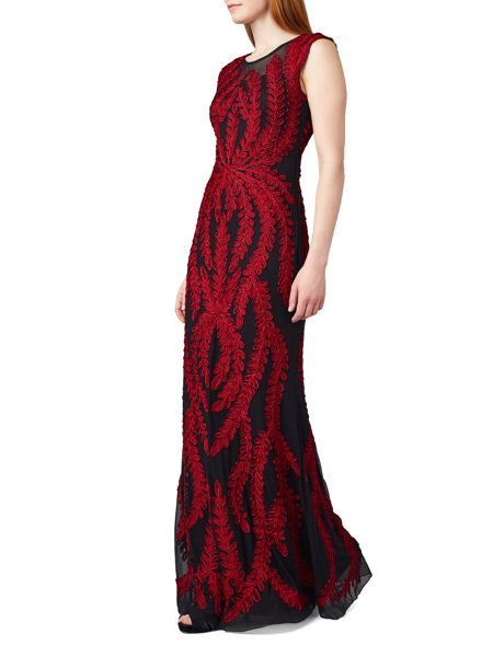 Phase Eight Azelia Tapework Full Length Dress