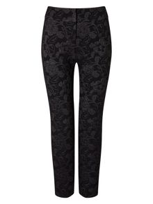 Phase Eight Erica Metallic Jacquard Trousers