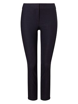 Senia Zip Crop Trousers