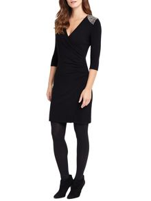 Phase Eight Mariana Wrap Knit Dress