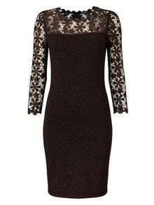 Phase Eight Foil Suzy Dress