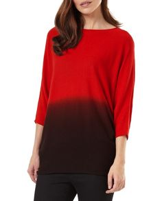 Phase Eight Dip Dye Becca Batwing Jumper