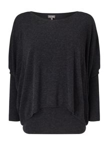 Phase Eight Charley Double Layer Knit Jumper