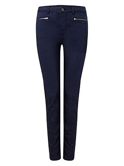 Victoria Brushed Zip Jeans