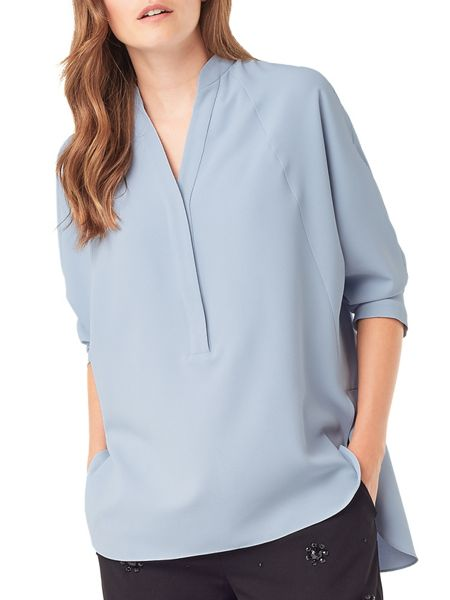 Phase Eight Ida Split Back Blouse