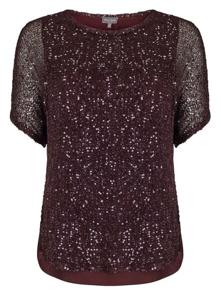 Phase Eight Sequin Macey Knitted Top