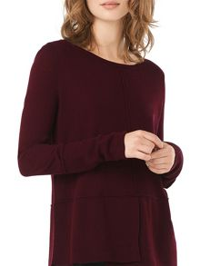 Phase Eight Felicity Step Hem Knit Jumper