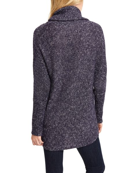 Phase Eight Fleck Lila Cowl Knitted Jumper