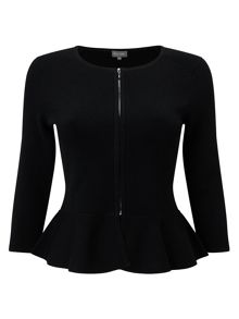 Phase Eight Poppy Peplum Knit Jacket