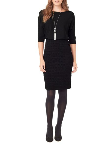 Phase Eight Adele Textured Knitted Dress
