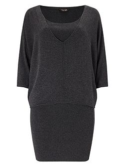 Carmen Double Layer Knitted Dress
