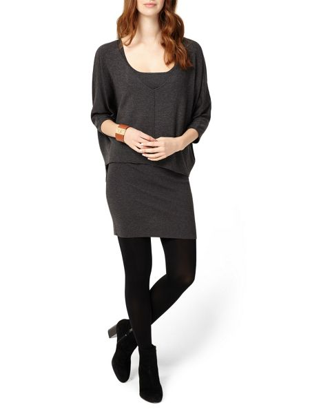 Phase Eight Carmen Double Layer Knitted Dress